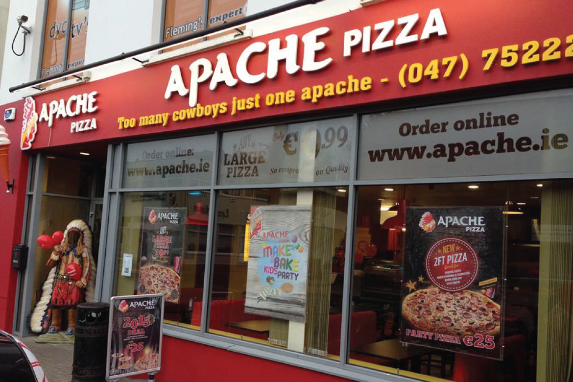 Apache Pizza Monaghan Has It